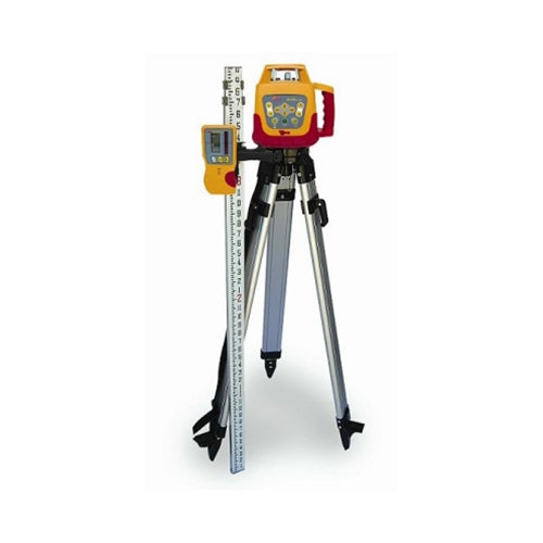 Pacific Laser Systems PLS HVR 505R Red Self-Level Horizontal/Vertical Rotary Laser Tripod PLS-60583