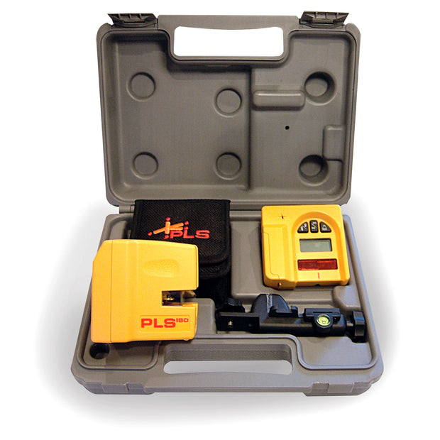 Pacific laser Systems PLS180-SYSTEM Laser Line, Level and Plumb with Detector and Case