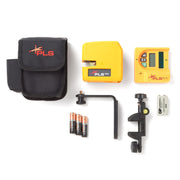Pacific Laser Systems PLS 180 Red Self-Leveling Cross Line Laser Level System, Detector PLS-60522N