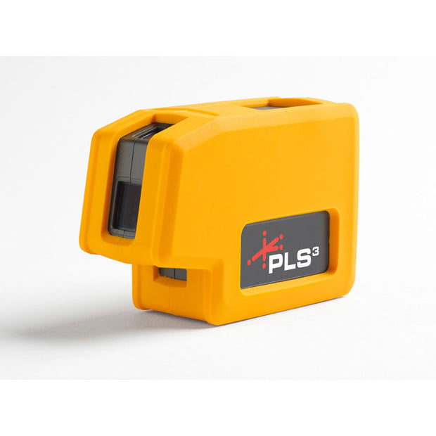 Pacific Laser Systems PLS 3 Red 3-Point Beam Laser Level, Plumb and Bob Tool PLS-60523N
