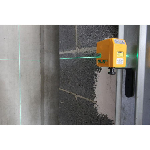 Pacific Laser Systems PLS 180 Green Cross Line Laser Level System with SLD Detector PLS-60619N