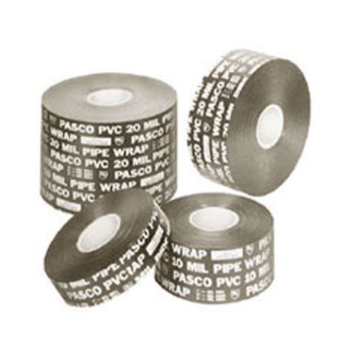 "Pasco 9062 2"" x 50 ft 20mil Pipe Wrap Tape"