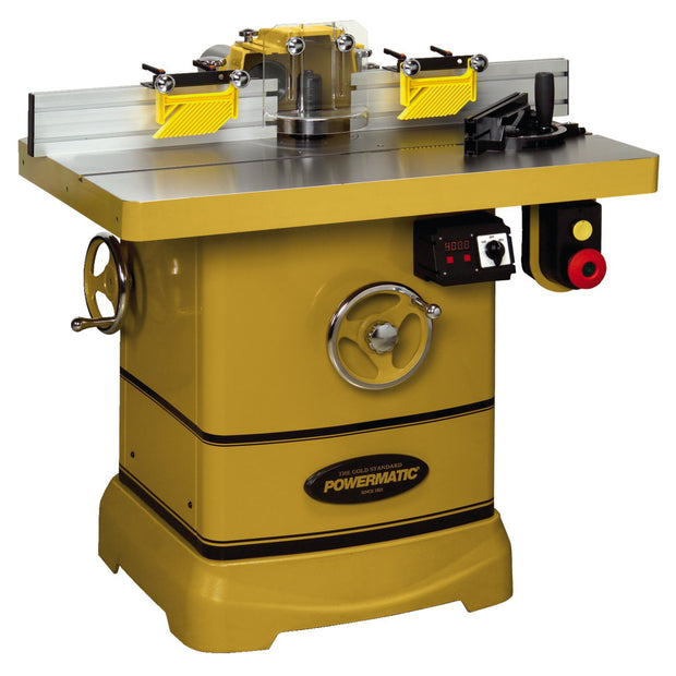 Powermatic 1280102C PM2700 Shaper, 5HP, 3PH with DRO and Casters