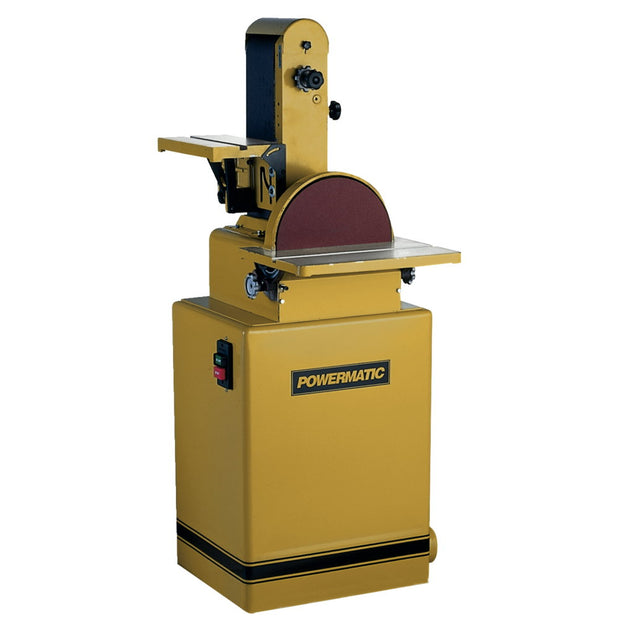 "Powermatic 1791292K 31A Belt/Disc Sander, 6""x48"" Belt, 2HP, Manual Switch"
