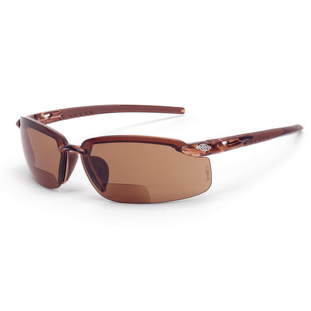 Crossfire ES5 Reader - 2.5, Brown / Crystal Brown