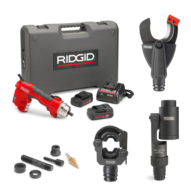 Ridgid 56508 RE 6 Electrical Tool Cut, Crimp, & Punch Kit