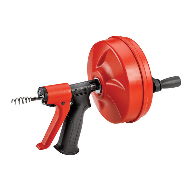 RIDGID 57043 POWER SPIN+ Drain Cleaner with AUTOFEED