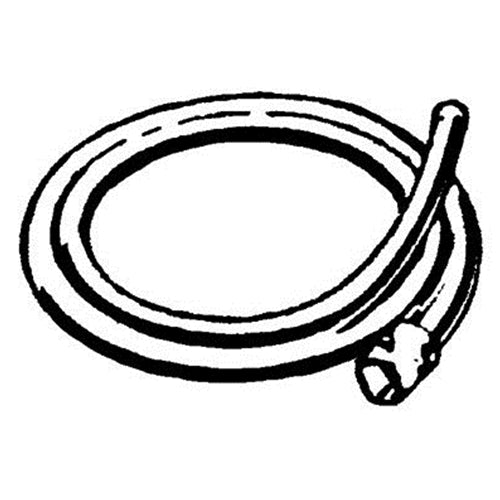 RIDGID 59395 A-34-15 15' (4,6 m) Rear Guide Hose for K-1500 Sectional Machine