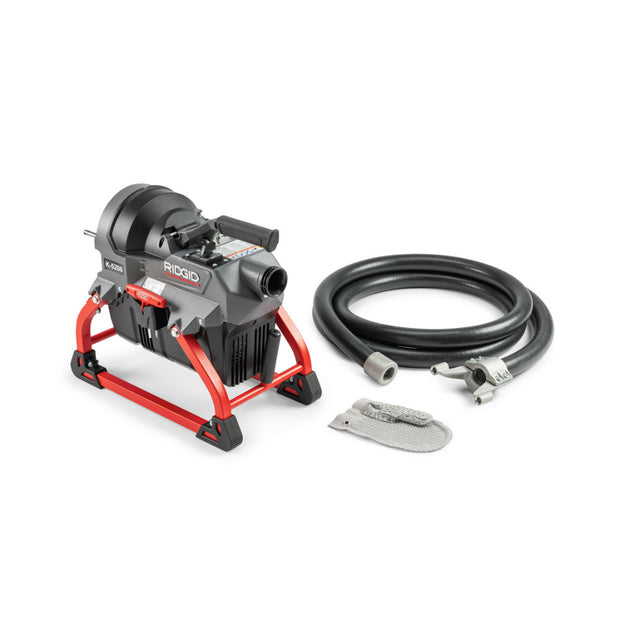 RIDGID 62378 K-5208, 115V 60Hz Sectional Drain Cleaner w/C-11 in Cable Carrier