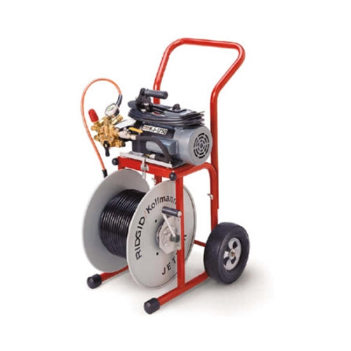 RIDGID 62687 KJ-1750 115 Volt Dual Pulse Jetter with Nozzle and Hose
