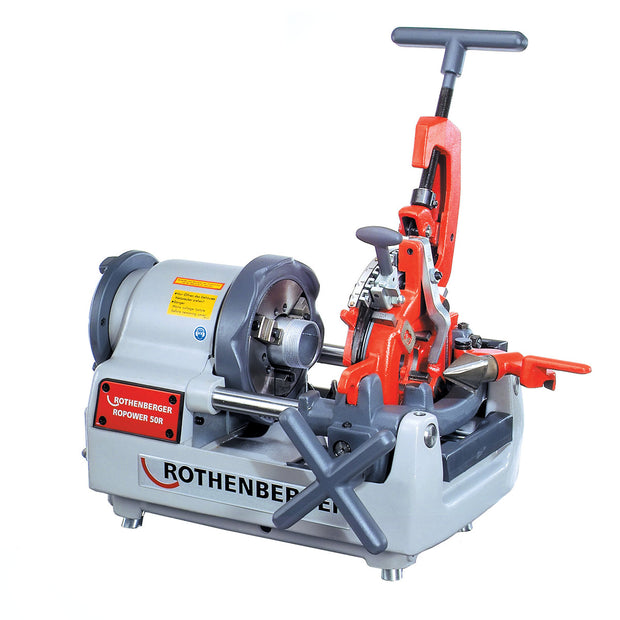 "Rothenberger 63004 Supertronic 2SE Compact Threading Machine with Automatic Die Head 1/2"" - 2"""