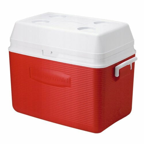 Rubbermaid FG2A1602MODRD 54 QT Ice Chest Red