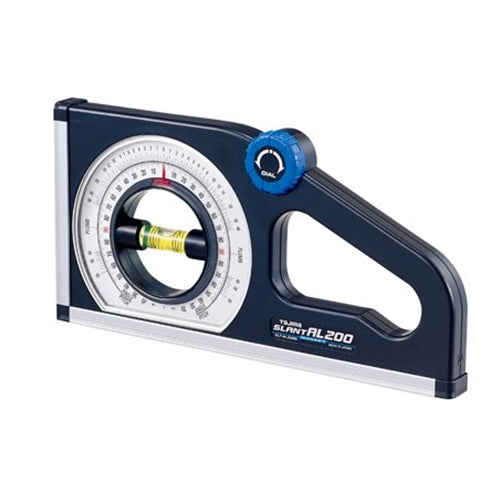 Tajima SLT-AL200M SLANT AL200 dual-scale rotary pitch / angle meter with magnetic base