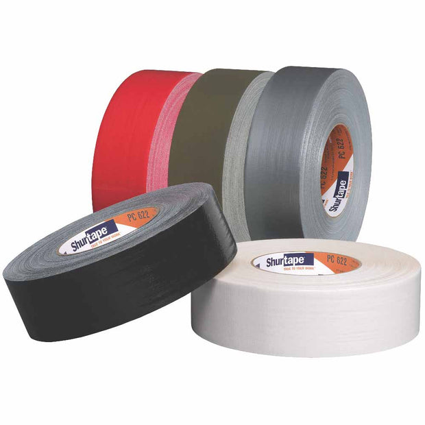 "Shurtape 101178 PC 622 Premium Grade 3"" Stucco Duct Tape, Silver, 72mm x 55m"