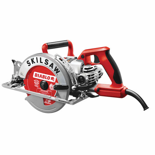 "Skilsaw SPT77WML-72 7-1/4"" Lightweight Magnesium Worm Drive Saw with Twist Lock"