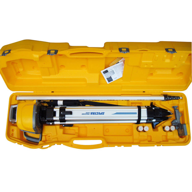 Spectra Precision Laser LL300N-2 Laser Level (Grade Rod In Inches) With System Case
