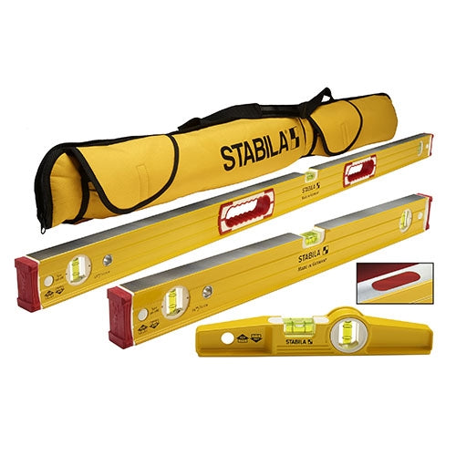 Stabila 48380 Magnetic 3 Level Set