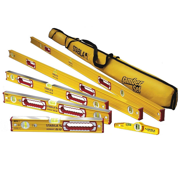 "Stabila 78496 78 Complete 6 Level Set (78"", 48"", 32"", 24"", 16"", Torpedo)"