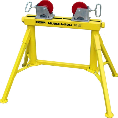 Sumner 780370 Lo Adjust-A-Roll w/Steel Wheels Roller Stand