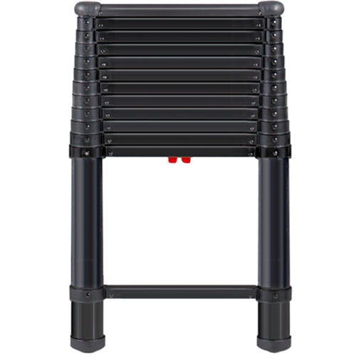 TeleSteps 1600ET 12.5 Ft. Type 1A Black Telescoping ladder 300 Pounds