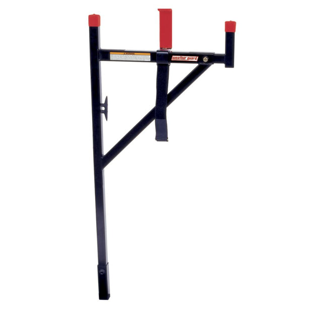 "Weather Guard 1450 WEEKENDER Black Steel Horizontal Ladder Rack, 52.5"" x 4-1/16"" x 19""-36"""