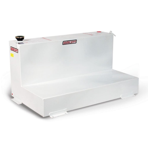 Weather Guard 354-3-01 White L-Shape 90-Gal Transfer Tank for Pick-Up Trucks