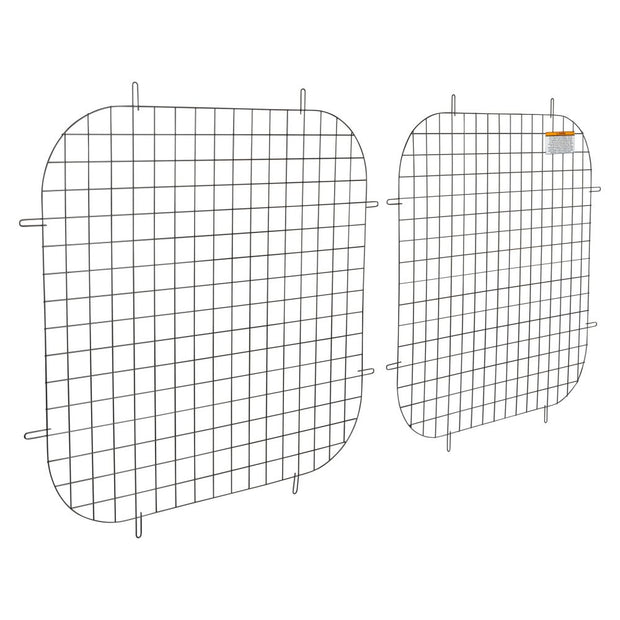 Weather Guard 88050 Black Armor-TUF Steel Mesh Full Window Screen Rear Door, RAM ProMaster