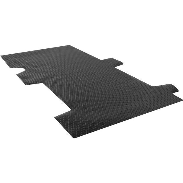 "Weather Guard 89026 Black Thermoplastic Rubber 148"" Wheel Base Floor Mat, Ford Transit"