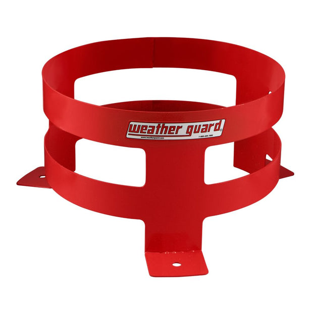 "Weather Guard 9885-7-01 Bright Red 5-Gallon Bucket Holder, 6.25"" x 11.25"""