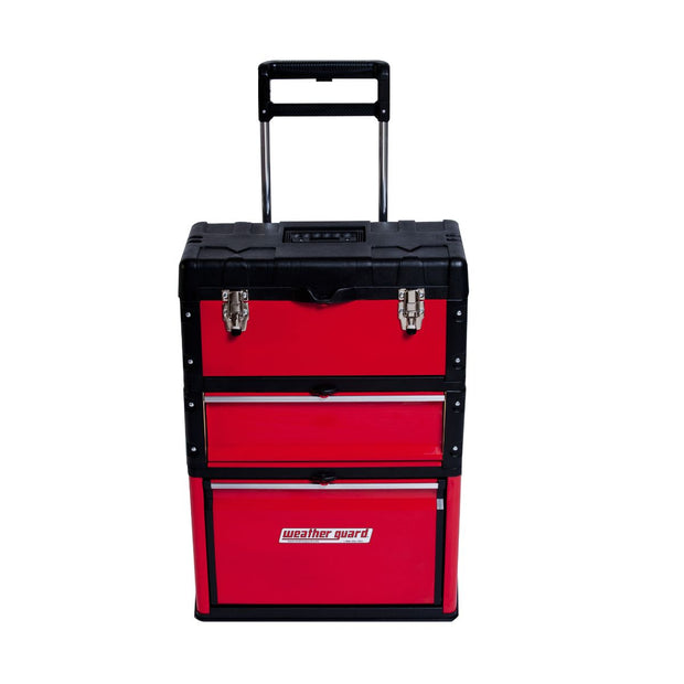 "Weather Guard 9953-7-01 Modular RedZone Grab and Go Cart Tool Box, 28.5"" x 20"" x 12"""