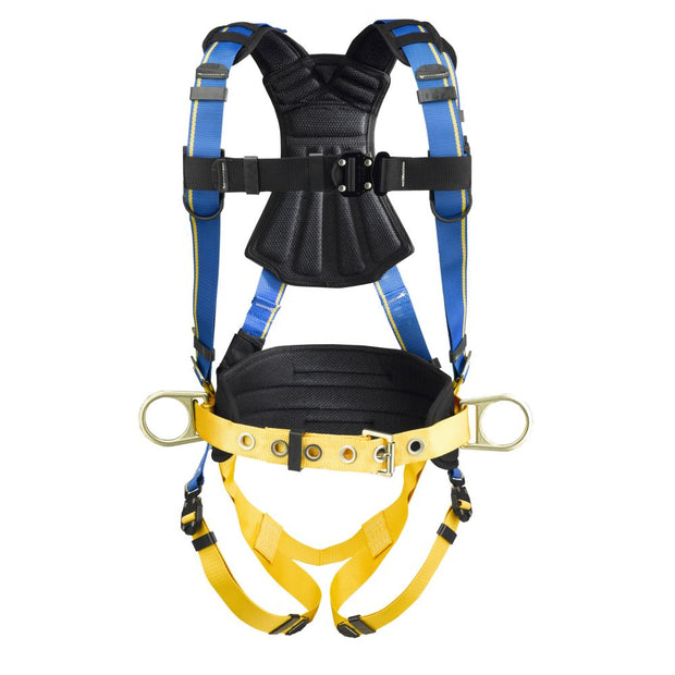 Werner H133102 Blue Armor 2000 Construction (3 D Rings) Harness (M/L)