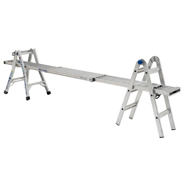 Werner MT-13 14' Reach Multi-Position Ladder, 300lb Capacity 13' Type IA