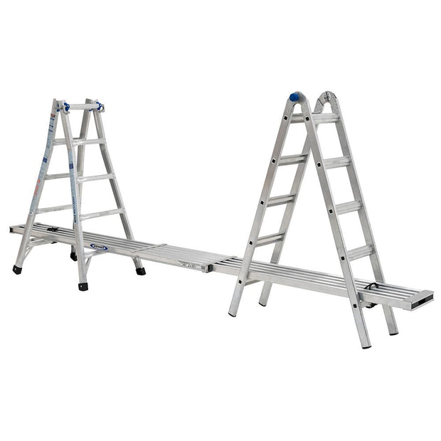 Werner MT-22 22' Reach Multi-Position Ladder, 300lb Capacity 22' Type IA