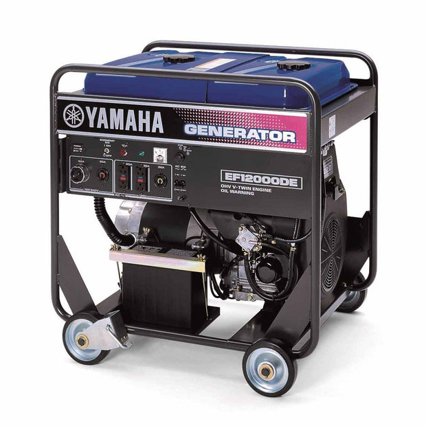 Yamaha EF12000DE 12000 Watt Gasoline Electric Start Dual Voltage Generator