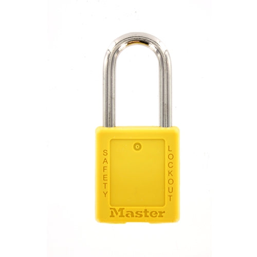 MasterLock 410YELLOW #410 safety lockout padlock