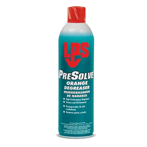 LPS 01420 PreSolve Orange Degreaser, 15 oz