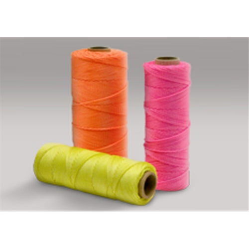 Rope 135109 Yellow Twisted Nylon Seine Twine, 550'