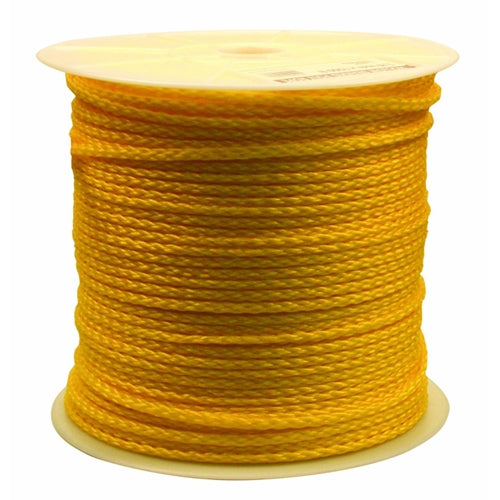 "Rope Products 1/4X1200YP 1/4""x 1200 footyellow poly rope"