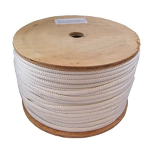 "Rope Products 347043 3/8"" x 600 ft Double-Braid Pull Rope w/ Eyelets"