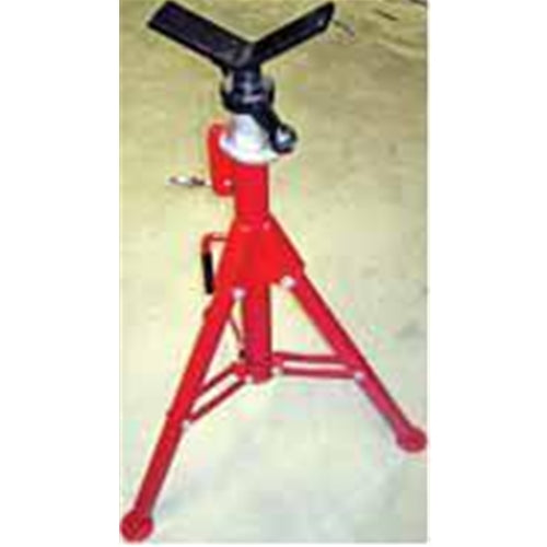 Rothenberger 10641 SUPERJACK Pipe Stand, Folding, w/V-Head