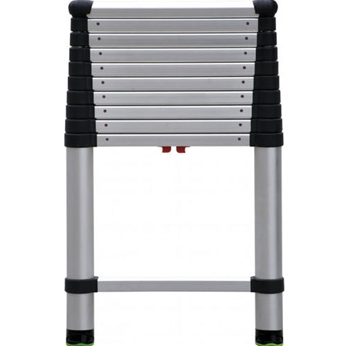"TeleSteps 1400E 28""-10.5' Telescopic Ladder, 250 lbs rating"