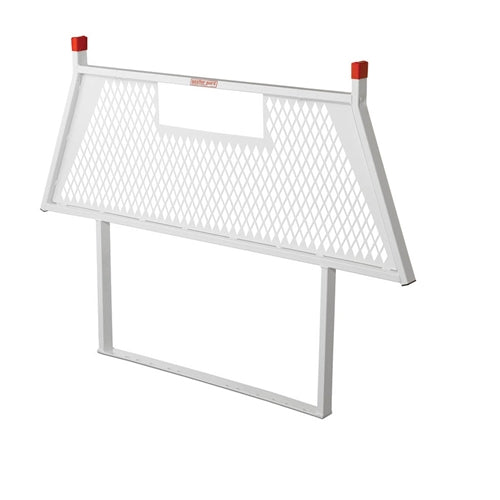 Weather Guard 1910-3-01 White Steel Protect-A-Rail Cab Protector