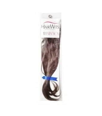 Hairwits Human Hair Extensions- For Added Length And Volume- Brown-Straight