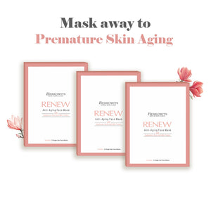 Berkowits Renew Anti Aging Sheet Mask (Pack of 6 sheets)