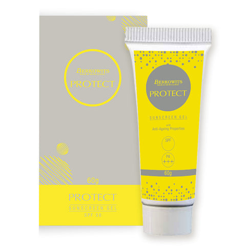 Berkowits Protect Sunscreen Gel, SPF 50, PA+++, 60gm
