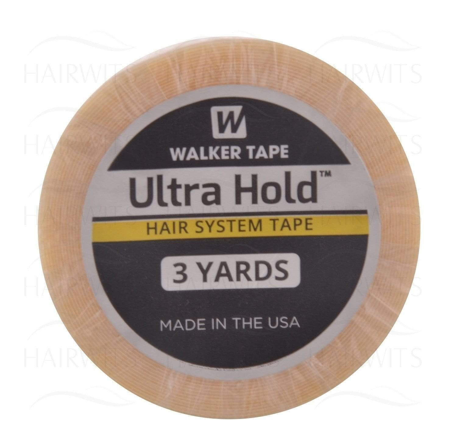 Walker Tape Ultra Hold Tape Roll For Hair System/Wigs Attachment (.75'' -3 YDS)