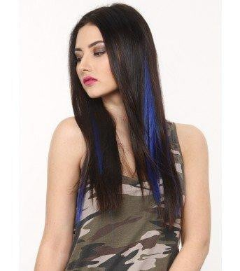 Arctic Blue Highlighter Hair Extension
