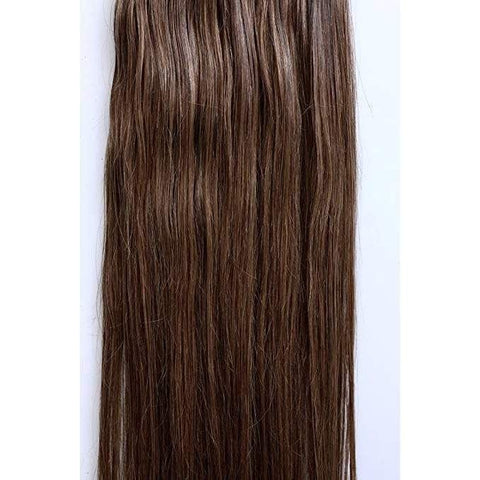 7 Piece Chestnut Brown  Hair Extensions