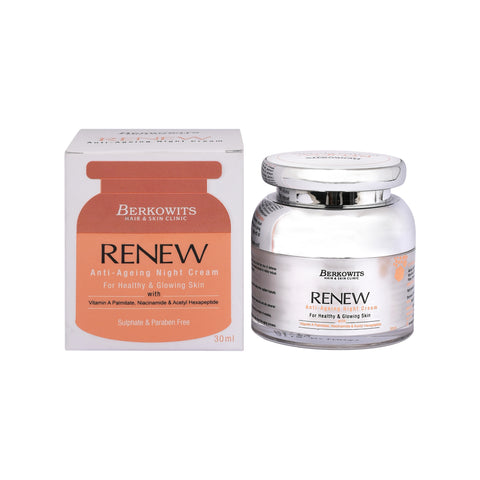 Berkowits Renew Anti Aging Night Cream with Retinol (30ml)