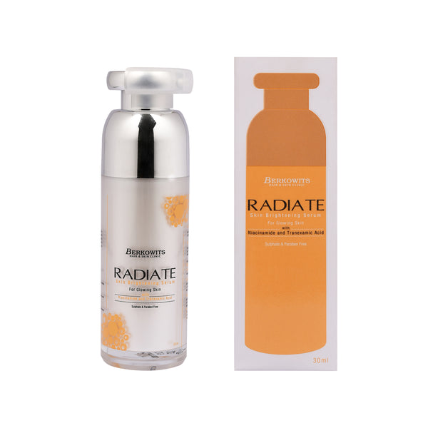 Berkowits Radiate Skin Brightening Face Serum with Niacinamide (30ml)